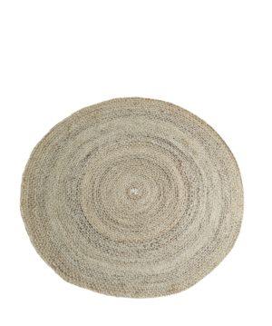 Okrągły dywan z juty Madam stoltz