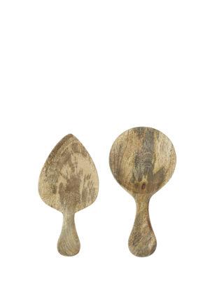 Zestaw drewnianych łyżek do serwowania Madam Stoltz