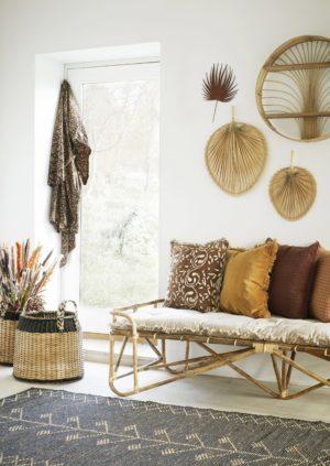 Dekoracja ścienna - liść palmowy Madam Stoltz